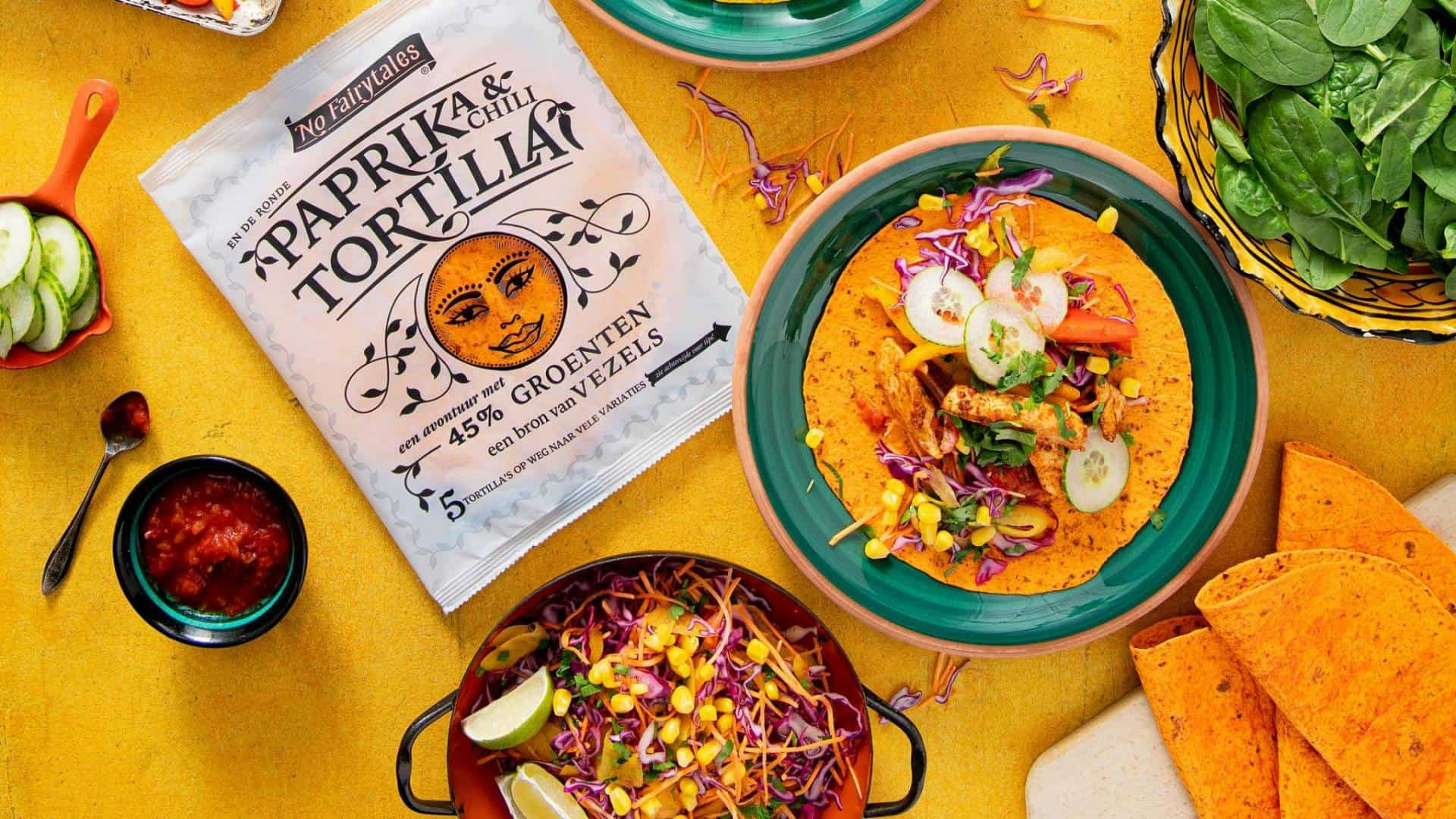 No Fairytales Paprika Chili Tortilla
