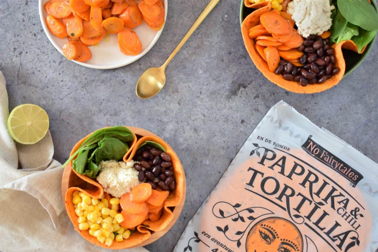 paprika chillitortilla bowl