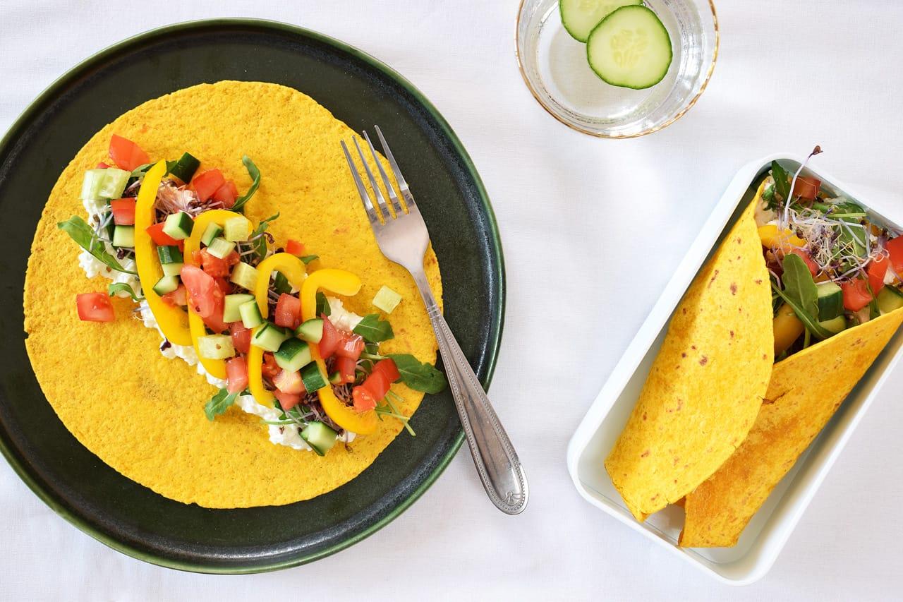 worteltortilla lunchbox tortilla
