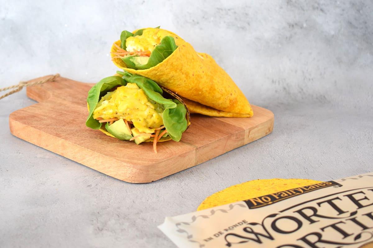 worteltortilla lunchtortilla