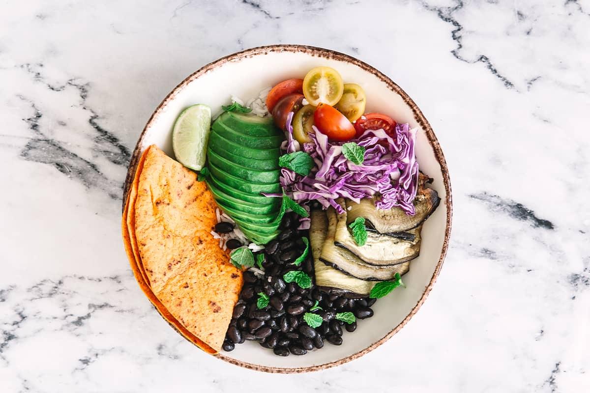 Vegetar-bowl