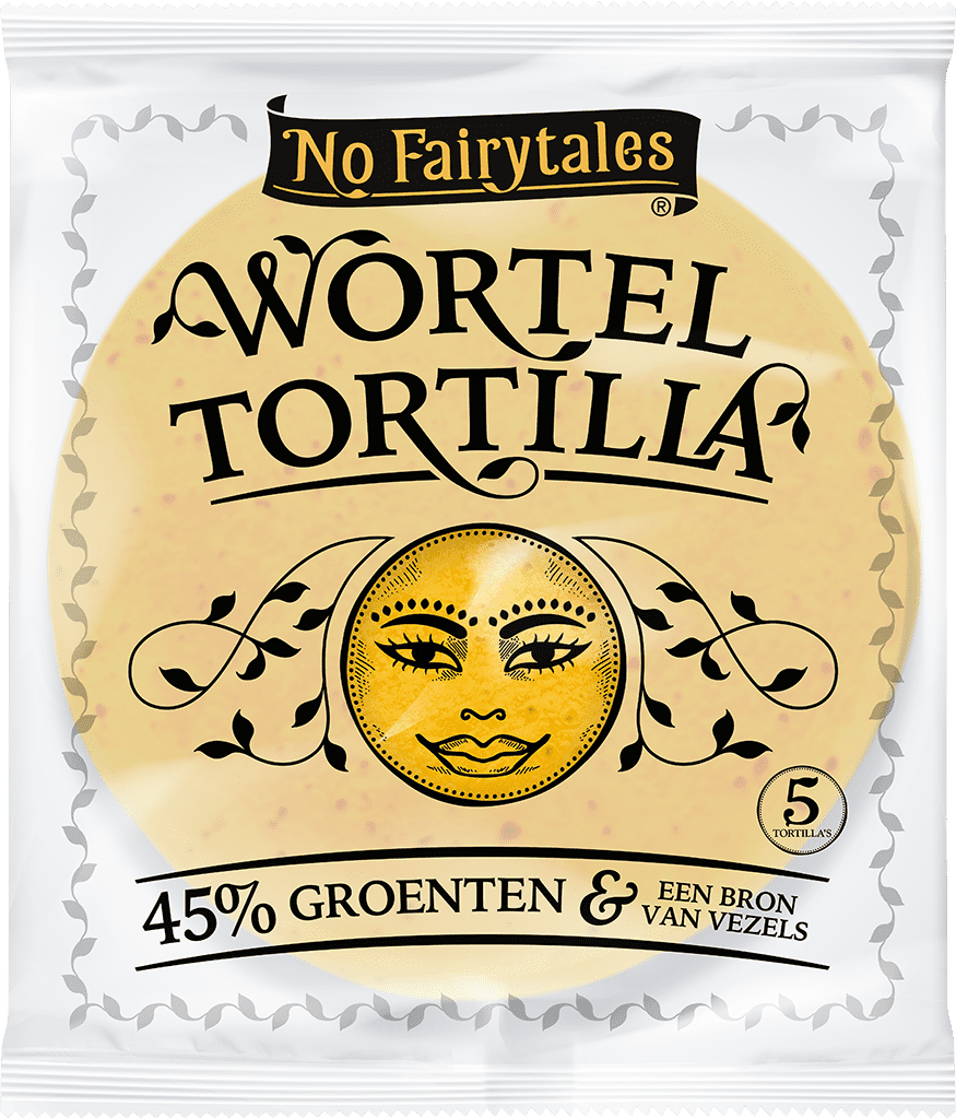 No Fairytales Wortel tortilla