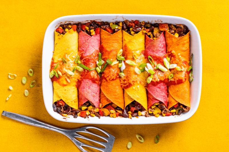 Burritos 800x533 - 10x Creatief aan de slag met de groente tortilla's van No Fairytales