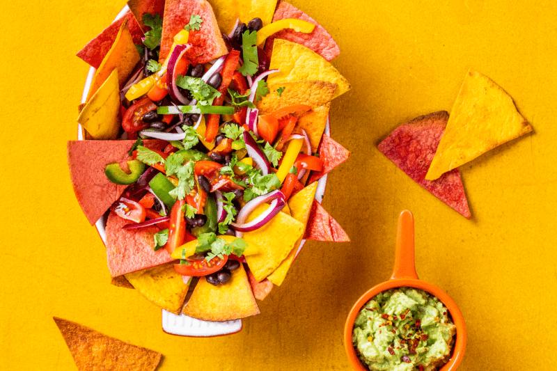 nachos 800x533 - 10x Creatief aan de slag met de groente tortilla's van No Fairytales