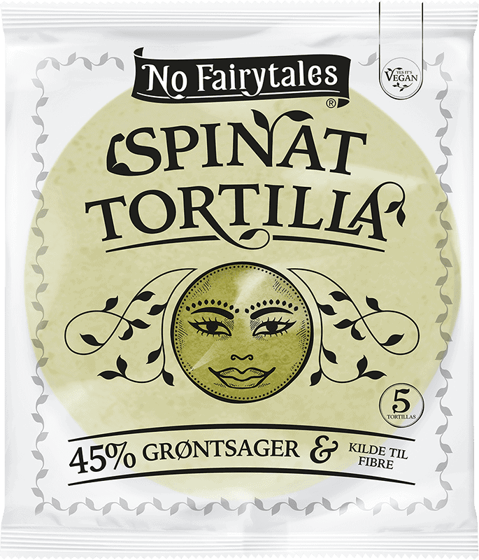 No Fairytales Spinat Tortilla Packshot
